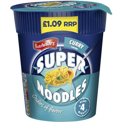 Batchelors Super Noodles Pot Curry Flavour 75g