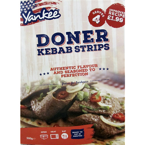 Yankee Doner Meat PM £1.99