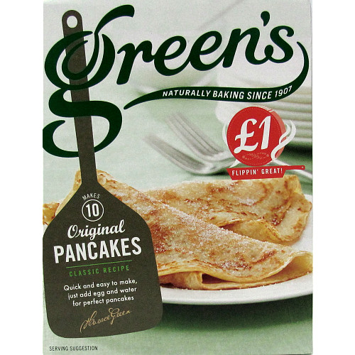Green's Original Pancakes Classic Recipe 232g