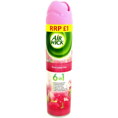 Airwick Pink Sweet Pea PM £1