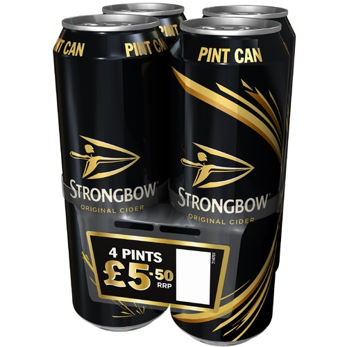 Strongbow Pint 4 Pack PM £5.50