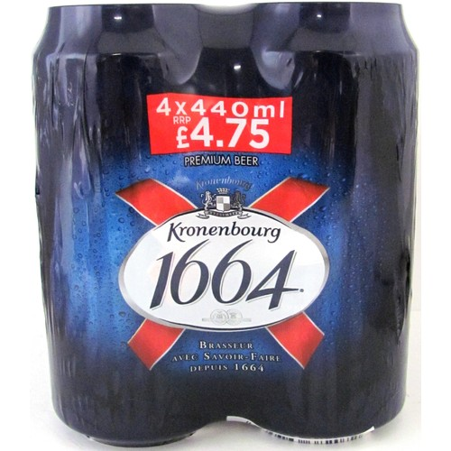 Kronenbourg 1664 4 Pack PM £4.75