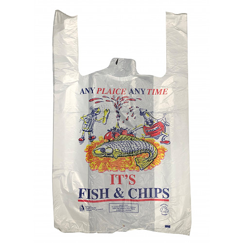 11X16X19 Fish/Chips Crs