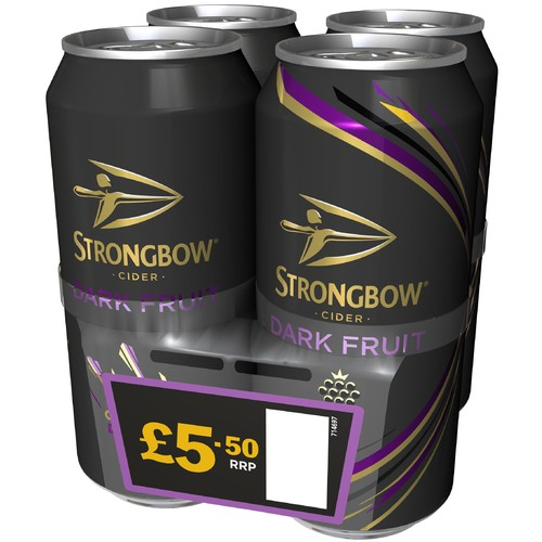Strongbow Dark Fruit 4 Pack PM £5.50