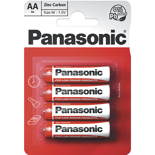Panasonic AA Zinc 4s