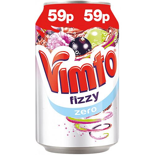 Vimto Zero Fizzy 330ml