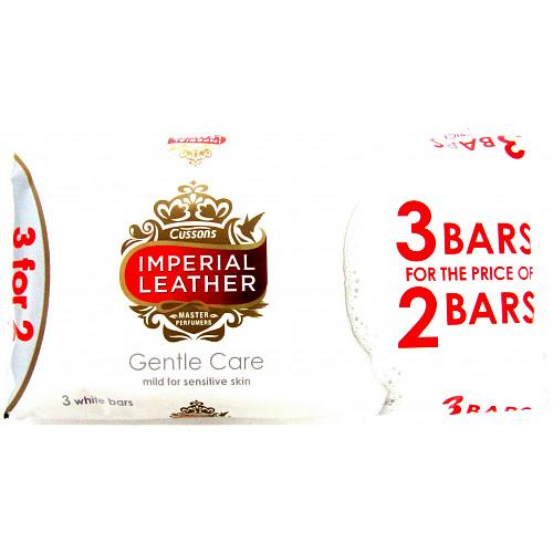 Imperial Leather Soap Gentle Care 3 For 2
