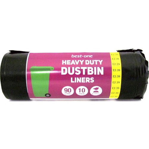 Bestone Heavy Duty Dustbin Liner PM £2.39
