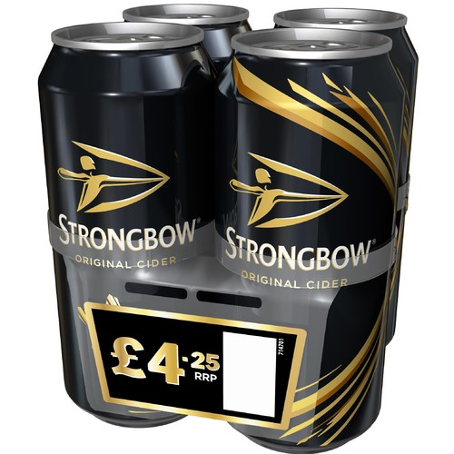 Strongbow PM 4/ £4.25