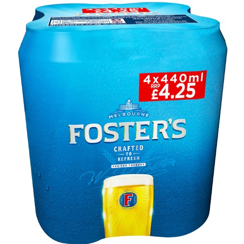 Fosters PM 4/ £4.25