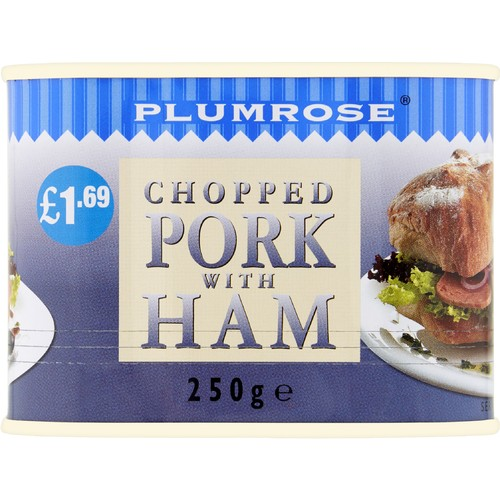 Plumrose Chopped Pork with Ham 250g
