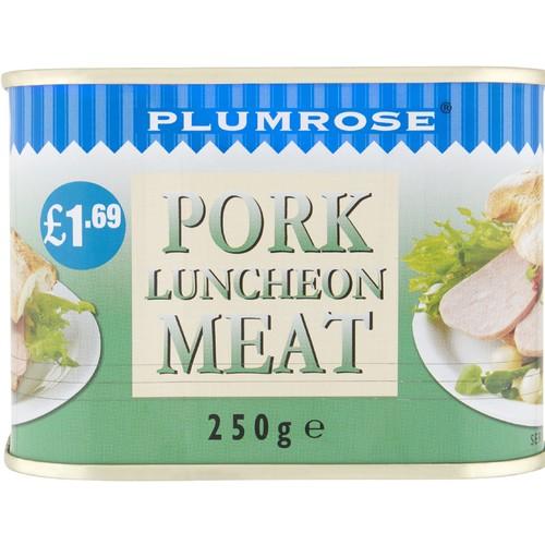 Plumrose Pork Luncheon Meat 250g