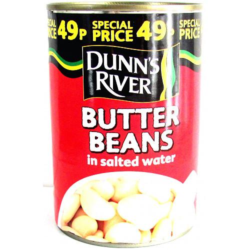 Dunns River Butter Beans PM 49p