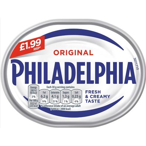 Philadelphia Original PM £1.99