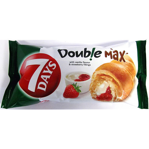 7Days Vanilla & Strawberry Croissant