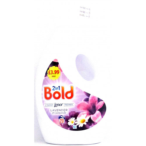 Bold 2In1 Liq L & C 20Wash PM £3.99