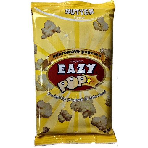 Eazypop Mw Popcorn Butter Flavour