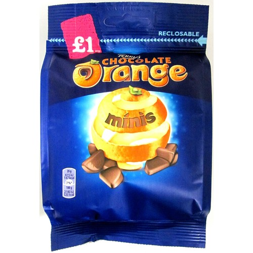 Terry's Chocolate Orange Minis £1 Chocolate Bag 95g