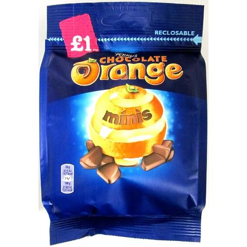 Terry's Chocolate Orange Minis £1 Chocolate Bag 95g