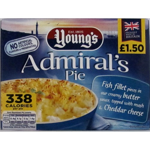 Youngs Admiral Pie PM £1.50