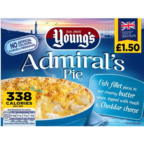 Youngs Mariners Pie PM £1.50