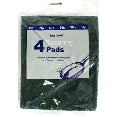 Bestone Scouring Pads Green PM 59p