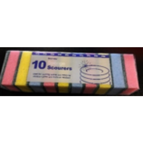 Bestone Multicolour Sponge Scourer PM 69p