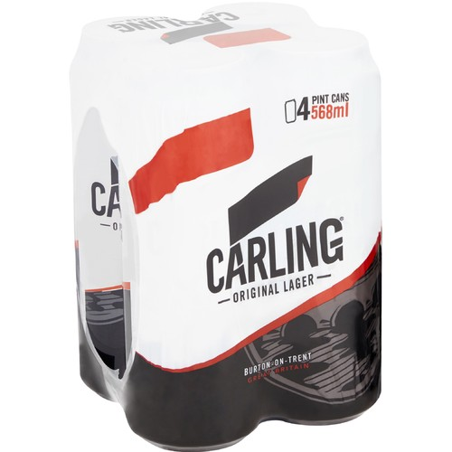 Carling Pint 4 Pack PM £5.39