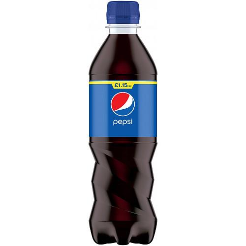 Pepsi Cola Bottle PMP 500ml