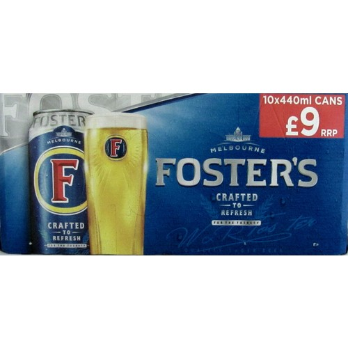 Fosters 10 Pack PM £9.00
