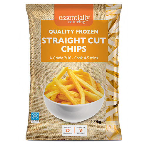 Essential Catering Straight Cut Chips 7/16