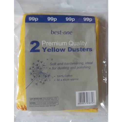 Bestone Premium Yellow Dusters PM 99p