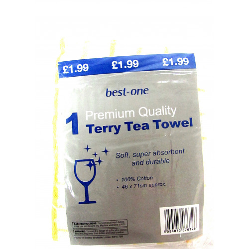 Bestone Premium Terry Tea Towel PM £1.99
