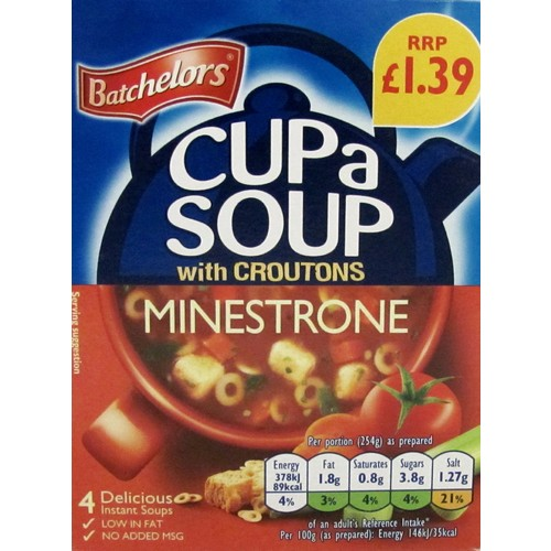 Batchelors Cas Minestrone PM £1.39
