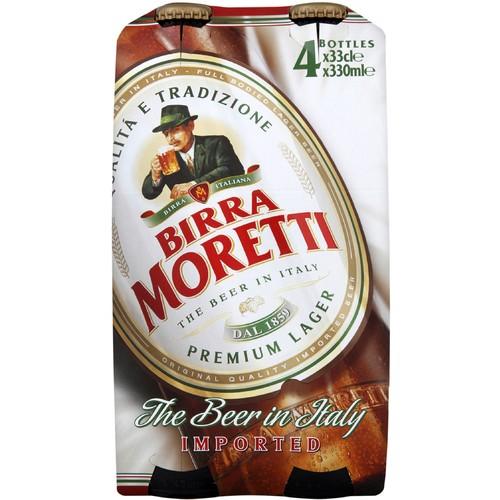Birra Moretti 4 Pack