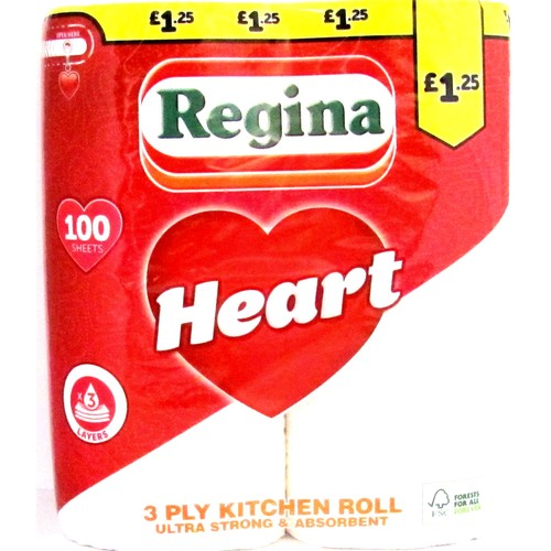 Regina Heart Kitchen Towel £1.25