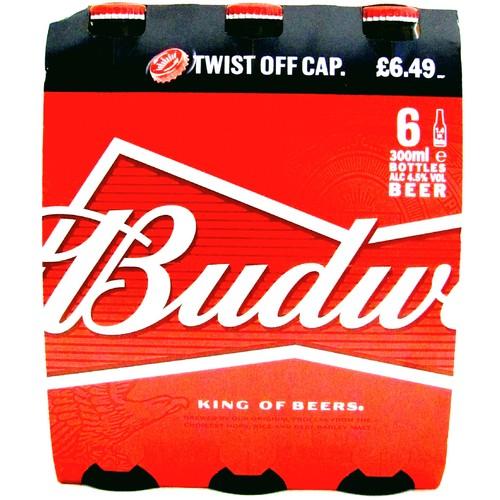 Budweiser 4.5% Abv 6 Pack PM £6.49