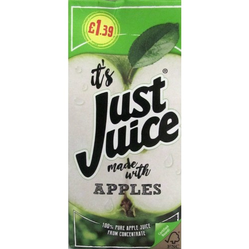 Just Juice Apple PM £1.39