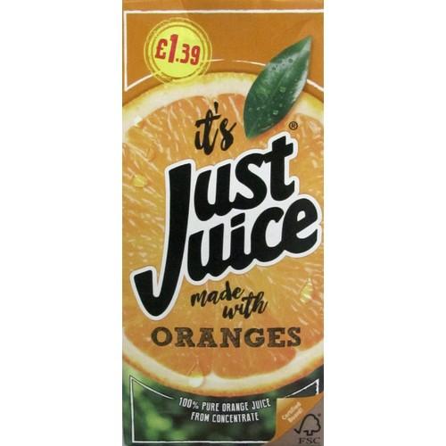 Just Juice Orange PM £1.39