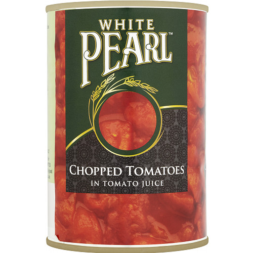 White Pearl Chopped Tomatoes in Tomato Juice 12 x 400g