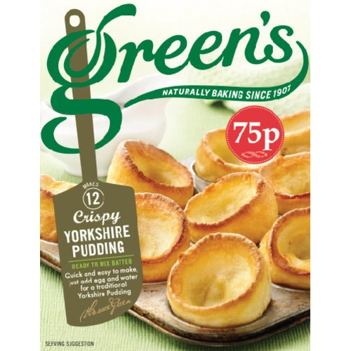 Greens Yorkshire Pudding Mix PM 75p