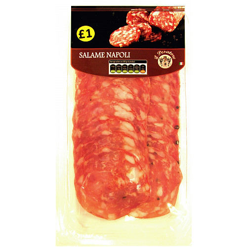 Il Pesatore Sliced Salame Napoli PM £1