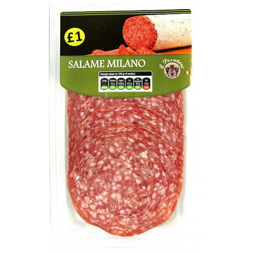 Il Pesatore Sliced Salame Milano PM £1