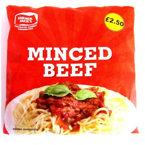 Farmer Jacks Minced Beef PM £2.50