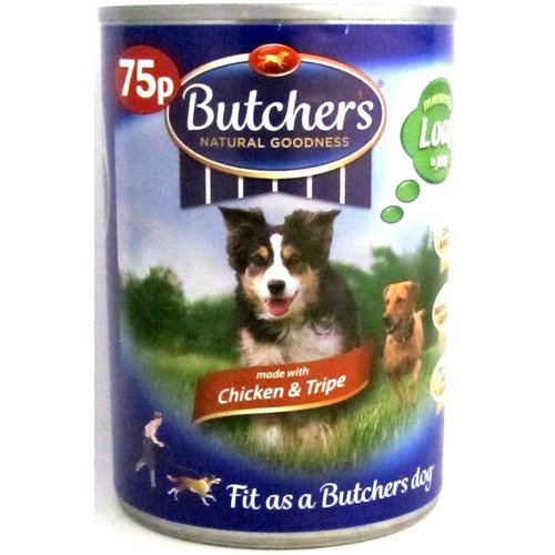Butcher's Chicken & Tripe 75p 400g