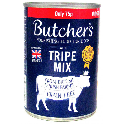 Butcher's Limited Edition Tripe Mix 75p 400g