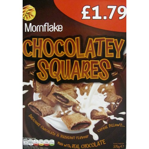 Mornflake Chocolatey Squares 375g