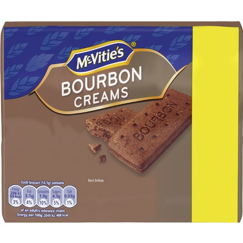 McVitie's Bourborn Cream Biscuits 300g
