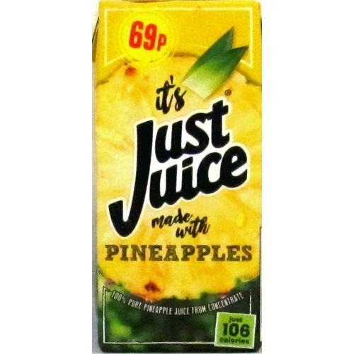 Just Juice Pineapple Juice PM 69p