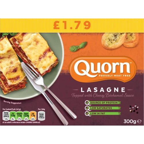 Quorn Lasagne PM £1.79